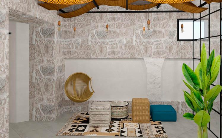 Esta imagen muestra el Estudio de fotografía en Tribu, tu espacio coworking