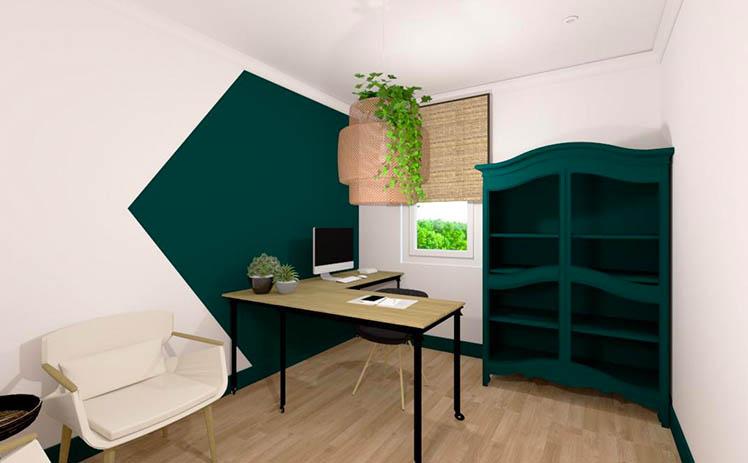 Esta imagen muestra un Despacho individual en Tribu, tu espacio coworking